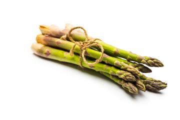 green Asparagus isolated on white : Stock Photo or Stock Video Download rcfotostock photos, images and assets rcfotostock | RC-Photo-Stock.: