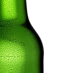 Green Beer bottle with drops of dew condensation alcohol- Stock Photo or Stock Video of rcfotostock | RC-Photo-Stock
