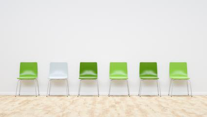green chairs in a waiting room, including Copy space - 3D Rendering : Stock Photo or Stock Video Download rcfotostock photos, images and assets rcfotostock | RC-Photo-Stock.: