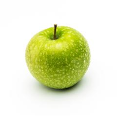 green fresh apple with drops : Stock Photo or Stock Video Download rcfotostock photos, images and assets rcfotostock | RC-Photo-Stock.: