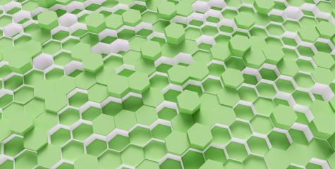 green Hexagon Background - 3D rendering - Illustration - Stock Photo or Stock Video of rcfotostock | RC-Photo-Stock