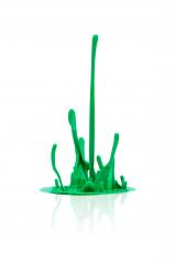 green paint splash isolated on white- Stock Photo or Stock Video of rcfotostock | RC-Photo-Stock