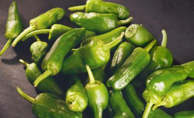 green peppers background - texture of green pepper, chili- Stock Photo or Stock Video of rcfotostock   RC-Photo-Stock