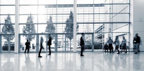 group of Blurred people walking in a business center lobby : Stock Photo or Stock Video Download rcfotostock photos, images and assets rcfotostock | RC-Photo-Stock.: