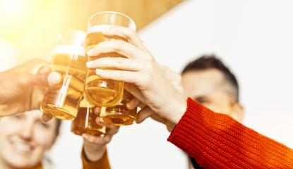 Group of friends enjoying a beer in brewery pub, Young people hands cheering at bar restaurant or at home, Friendship and youth concept image- Stock Photo or Stock Video of rcfotostock | RC-Photo-Stock