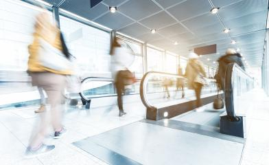 Group of unrecognizable people at a airport- Stock Photo or Stock Video of rcfotostock | RC-Photo-Stock