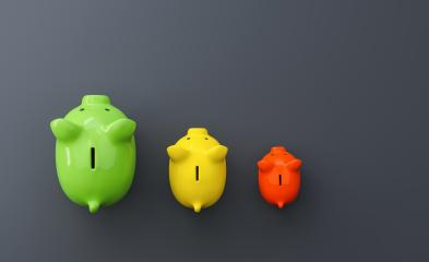 Growth chart of piggy bank on the table : Stock Photo or Stock Video Download rcfotostock photos, images and assets rcfotostock | RC-Photo-Stock.: