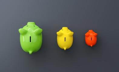 Growth chart of piggy bank on the table, investment and development concept- Stock Photo or Stock Video of rcfotostock | RC-Photo-Stock