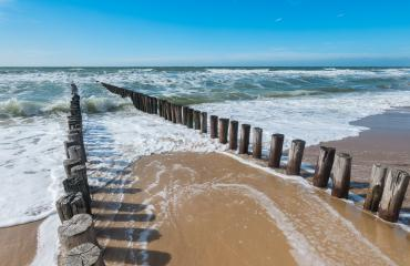 groynes on the beach at the north sea in Domburg, Zeeland, Holland- Stock Photo or Stock Video of rcfotostock | RC-Photo-Stock
