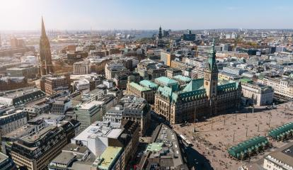 Hamburg city hall and downtown, Germany : Stock Photo or Stock Video Download rcfotostock photos, images and assets rcfotostock | RC-Photo-Stock.: