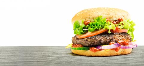 Hamburger - homemade burger with fresh vegetables : Stock Photo or Stock Video Download rcfotostock photos, images and assets rcfotostock | RC-Photo-Stock.: