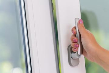 hand open white plastic window- Stock Photo or Stock Video of rcfotostock | RC-Photo-Stock