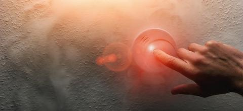 Hand Testing a home smoke alarm detector : Stock Photo or Stock Video Download rcfotostock photos, images and assets rcfotostock | RC-Photo-Stock.: