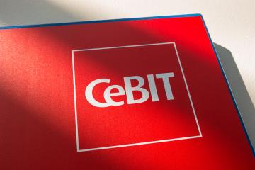 HANNOVER, GERMANY MARCH, 2017: Cebit logo. The Cebit is the biggest trade fair for information technology in the world.- Stock Photo or Stock Video of rcfotostock | RC-Photo-Stock