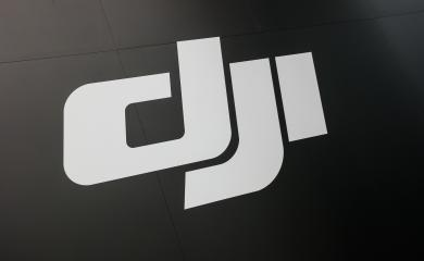 HANNOVER, GERMANY MARCH, 2017: DJI logo. DJI is the leading company in the civilian drone industry.- Stock Photo or Stock Video of rcfotostock | RC-Photo-Stock