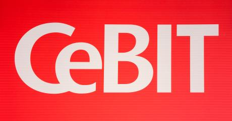 HANNOVER, GERMANY MARCH, 2017: The logo of the brand Cebit. The Cebit is the biggest trade fair for information technology in the world. : Stock Photo or Stock Video Download rcfotostock photos, images and assets rcfotostock | RC-Photo-Stock.:
