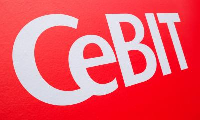 HANNOVER, GERMANY MARCH, 2017: The logo of the Cebit. The Cebit is the biggest trade fair for information technology in the world. : Stock Photo or Stock Video Download rcfotostock photos, images and assets rcfotostock | RC-Photo-Stock.: