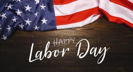 Happy Labor day lettering banner, american patriotic background or backdrop- Stock Photo or Stock Video of rcfotostock | RC-Photo-Stock