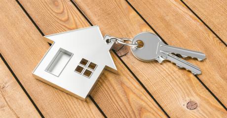 Hauskauf mit Haus und Schlüssel- Stock Photo or Stock Video of rcfotostock | RC-Photo-Stock