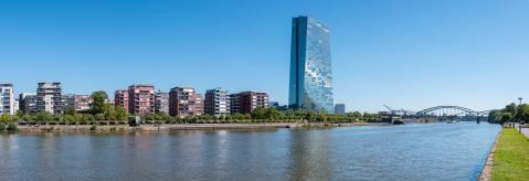 headquarters of the European Central Bank or ECB in Frankfurt am Main Panorama- Stock Photo or Stock Video of rcfotostock | RC-Photo-Stock