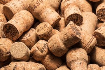 heap of champagne corks- Stock Photo or Stock Video of rcfotostock | RC-Photo-Stock