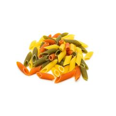 heap of colorful penne noodles- Stock Photo or Stock Video of rcfotostock | RC-Photo-Stock