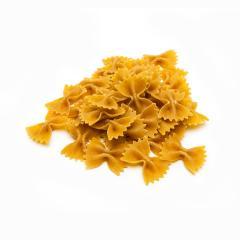 heap of Wholemeal farfalle pasta- Stock Photo or Stock Video of rcfotostock | RC-Photo-Stock
