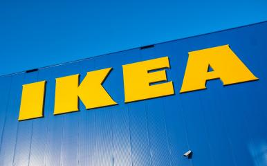 HEERLEN, NETHERLANDS FEBRUARY, 2017: Close up of the sign at the Ikea furniture store building.- Stock Photo or Stock Video of rcfotostock | RC-Photo-Stock