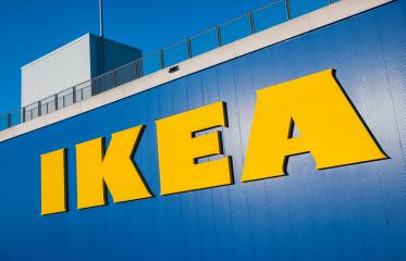 HEERLEN, NETHERLANDS FEBRUARY, 2017: Ikea logo on a store. IKEA is the world's largest furniture retailer and sells ready to assemble furniture. Founded in Sweden in 1943.- Stock Photo or Stock Video of rcfotostock | RC-Photo-Stock