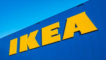 HEERLEN, NETHERLANDS FEBRUARY, 2017: The Ikea store Logo. IKEA is the world's largest furniture retailer and sells ready to assemble furniture. Founded in Sweden in 1943. : Stock Photo or Stock Video Download rcfotostock photos, images and assets rcfotostock | RC-Photo-Stock.:
