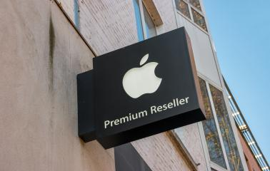 HEERLEN, NETHERLANDS OCTOBER, 2017: Apple Premium Reseller logo on a Wall. Apple is the multinational technology company headquartered in Cupertino, California and sells consumer electronics products.- Stock Photo or Stock Video of rcfotostock | RC-Photo-Stock