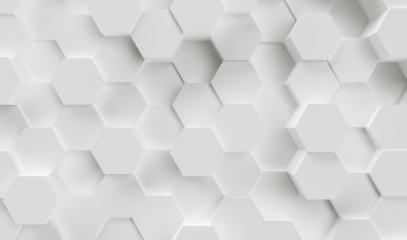 hexagonal abstract 3d background - Illustration - 3D rendering - Illustration - Stock Photo or Stock Video of rcfotostock | RC-Photo-Stock