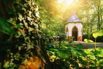 hidden chapel in the forest : Stock Photo or Stock Video Download rcfotostock photos, images and assets rcfotostock | RC-Photo-Stock.: