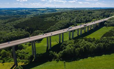 Highway bridge - aerial view- Stock Photo or Stock Video of rcfotostock | RC-Photo-Stock