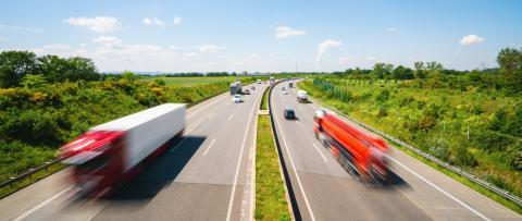 Highway transportation with cars and Truck- Stock Photo or Stock Video of rcfotostock | RC-Photo-Stock