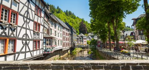 Historical old Town of Monschau- Stock Photo or Stock Video of rcfotostock | RC-Photo-Stock