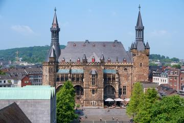 historical town hall in Aachen : Stock Photo or Stock Video Download rcfotostock photos, images and assets rcfotostock | RC-Photo-Stock.: