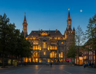 historical town hall in Aachen at night- Stock Photo or Stock Video of rcfotostock | RC-Photo-Stock