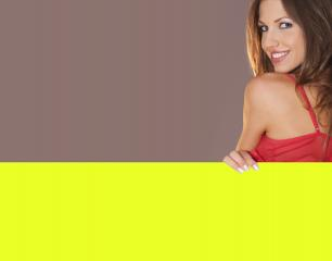 holding a banner- Stock Photo or Stock Video of rcfotostock | RC-Photo-Stock
