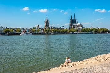 holidays at Cologne city at summer- Stock Photo or Stock Video of rcfotostock | RC-Photo-Stock