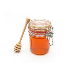 Honey jar with honey dipper- Stock Photo or Stock Video of rcfotostock | RC-Photo-Stock