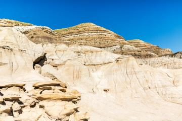Hoodoo badlands in alberta canada at summer- Stock Photo or Stock Video of rcfotostock | RC-Photo-Stock