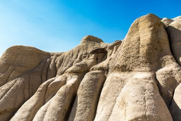 Hoodoo rocks at drumheller in alberta canada : Stock Photo or Stock Video Download rcfotostock photos, images and assets rcfotostock | RC-Photo-Stock.: