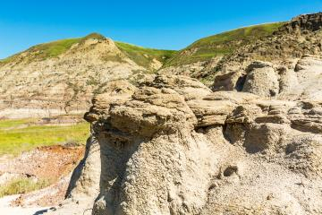 Hoodoo valley in drumheller badlands canada- Stock Photo or Stock Video of rcfotostock | RC-Photo-Stock