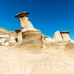Hoodoos east of Drumheller in alberta canada : Stock Photo or Stock Video Download rcfotostock photos, images and assets rcfotostock | RC-Photo-Stock.: