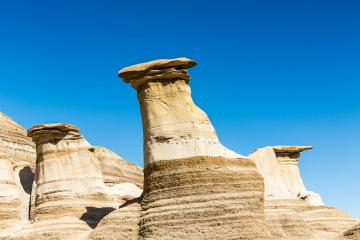 Hoodoos in Drumheller Alberta canada : Stock Photo or Stock Video Download rcfotostock photos, images and assets rcfotostock | RC-Photo-Stock.: