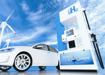 hydrogen logo on gas station. h2 combustion engine for emission free ecofriendly transport. : Stock Photo or Stock Video Download rcfotostock photos, images and assets rcfotostock | RC-Photo-Stock.: