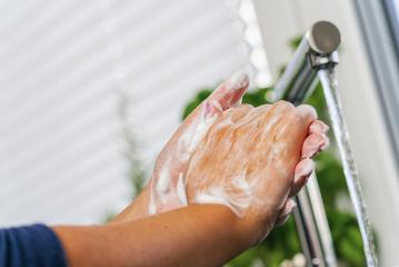 Hygiene. Cleaning Hands. Washing hands with soap- Stock Photo or Stock Video of rcfotostock | RC-Photo-Stock
