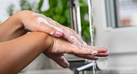 Hygiene. Cleaning Hands. Washing hands with soap prevention for Coronavirus flu outbreak or coronaviruses influenza- Stock Photo or Stock Video of rcfotostock | RC-Photo-Stock