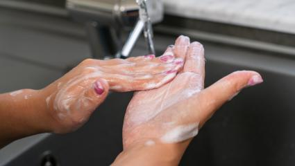 Hygiene. Woman Cleaning Hands. Washing hands with soap prevention for China pathogen respiratory coronavirus 2019-ncov flu outbreak. Dangerous asian ncov corona virus, SARS pandemic risk concept- Stock Photo or Stock Video of rcfotostock | RC-Photo-Stock